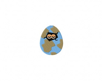 Mini dino egg machine embroidery design, dinosaur egg embroidery design, dinosaur embroidery design