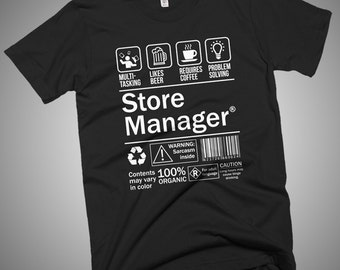 Store Manager Funny T-Shirt