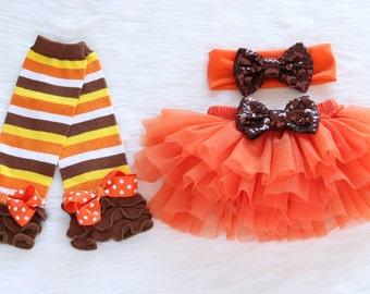 Thanksgiving Bloomer Set, Baby Tutu Bloomer, Thanksgiving Bloomer & headband set, Baby Diaper Bloomer Cover, 1st Thanksgiving outfit, ACC