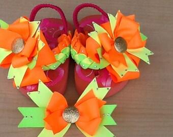 Toddler Flip Flops size 4/5