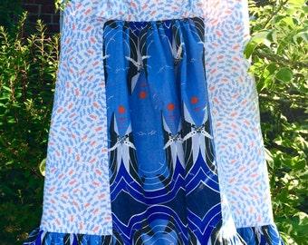 Imogen - Charley harper whale print dress *end of summer sale*