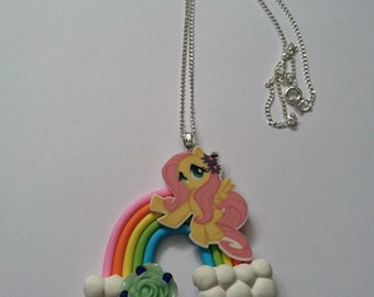 Fluttershy over the rainbow