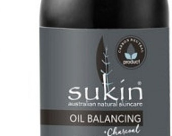 Sukin Oil Balancing Plus Charcoal Purifying Gel Cleanser 125m