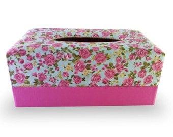 Handmade Fabric Tissue Box