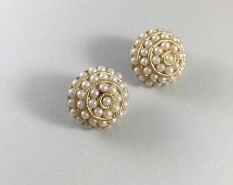 1940s clip on earrings