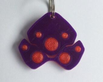 Widowmaker Inspired Keychain
