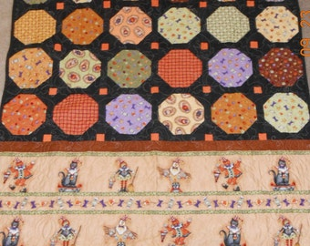 Halloween - Quilted Throw