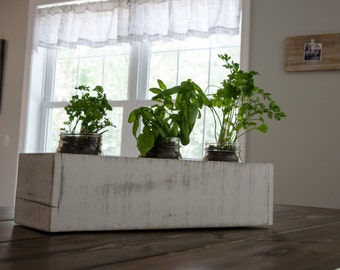 Rustic Planter box ~ Reclaimed Wood