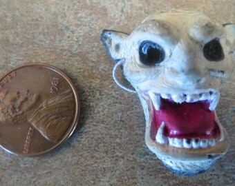 Dollhouse Miniature Crypt demon Halloween mask