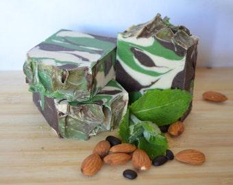 Mocha Mint Scrub Body Soap