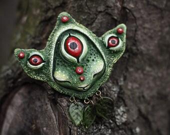 "Brooch ""Forest Dreamer"""