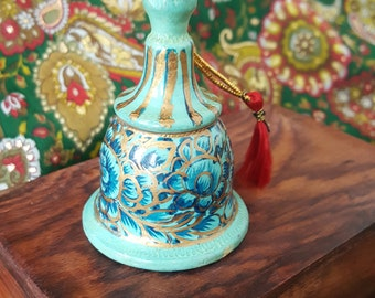Hand Painted Bell Ornament