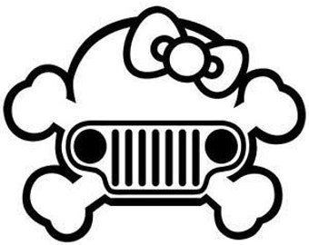 Hello Kitty Skull Jeep