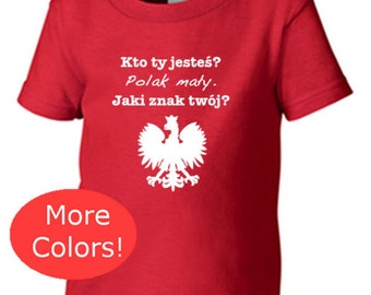POLSKA, poland, polish, polska shirt, polish eagle, polish shirt, polska t shirt, poland clothes, kids polish shirt, polen, polish clothing