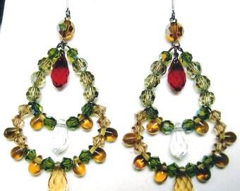 Festive Chandelier Earrings