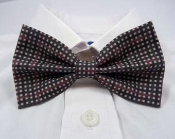 Sherlock Inspired Deerstalker Tartan Bow Tie