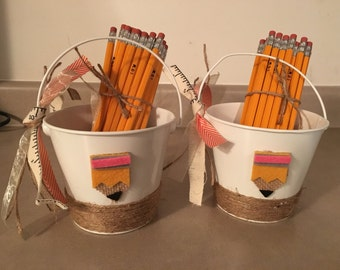 Back to School Pails