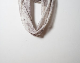 Natural Dyed Infinity Scarf