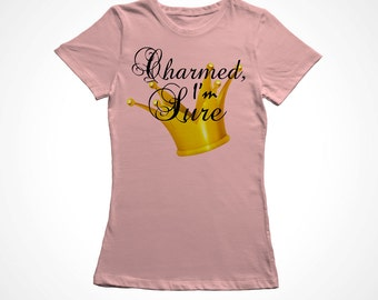 "Princess Toddler Girls ""Charmed, I'm Sure"" Top"