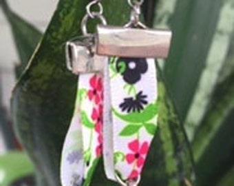 Floral Ribbon earrings