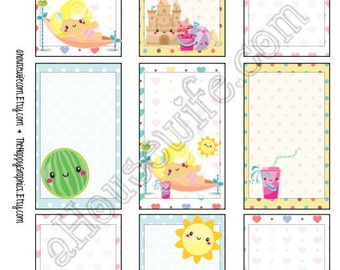 Holiday, Happy Planner stickers [49] , Full box, A5 PDF, Instant download