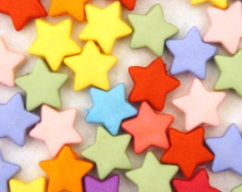 Rainbow Star Beads