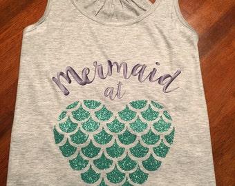 Mermaid at Heart Tank Top
