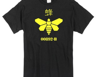 Golden Moth Breaking Bad T-Shirt black 100% cotton walter white