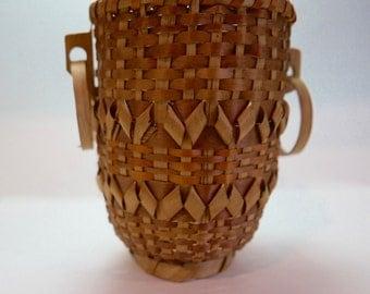 Native American Vintage Flower Basket