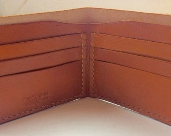 Bifold Wallet - full grain Leather