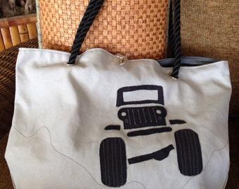 Jeep Beach Bag