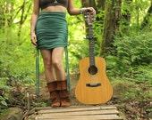 SMALL FOREST - Allium Skirt - Soy/ Organic Cotton Jersey (size runs big)