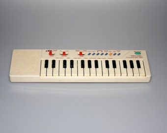 Realistic Concertmate 350 / Casio PT-10 Keyboard Synthesizer Vintage 1980s