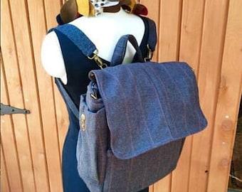 Free Shipping *** Urban Rucksack/Messenger bag ***  Build Your Own Bag