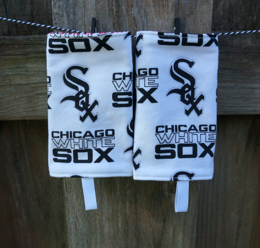 Reversible Baby Carrier Suck Pads White Sox Chicago