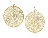 Peltate Earrings (gold)