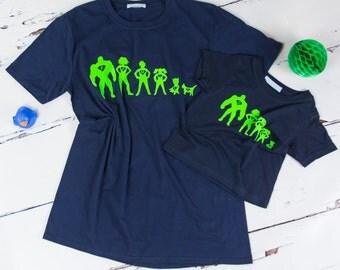 Personalised Superhero T shirt Set