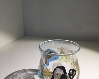 AETHER - Hand Painted Candle Holder