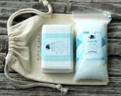 Coconut Milk Soap Gift Set . Spa Gift Set . Milk Bath Gift Set . Coconut Milk Bath . Cocount Milk Soap . Gift for Husband Boyfriend Men Him