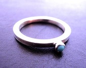 Create Your Own StackTurquoise Ring in Sterling