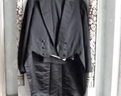 Edwardian Tuxedo Tailcoat and Trousers 38 Waist