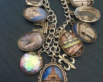 Paris Charm Bracelet - Parisian and Perfect