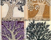 Postcards - Trees - Set of 4 - Beautiful cards for any occation