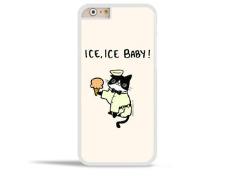 iPhone 6 Case Ice Cream Cat Ice Ice Baby Samsung Galaxy Note 5 Galaxy Note 4 Case