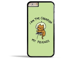 Samsung Galaxy S7 Case I Am the Champion iPhone 6s Case Space Kitty Nintendo Nes Phone Case Galaxy Note 5