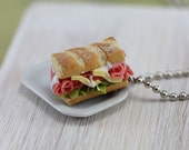 Ham and Cheese Necklace