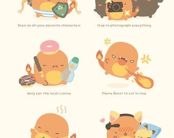 MINI Charmander's Guide to Conventions