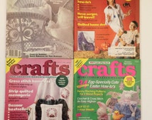 Craft Magazine back issues Crafts The Creative Woman's Choice  magazines 1990's