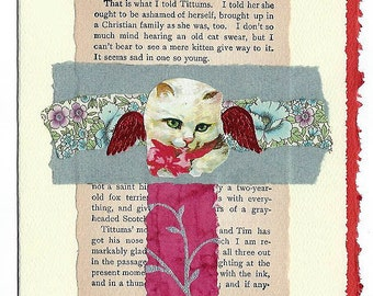 Pet Sympathy Card Cat