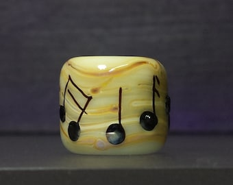 Dreadlocks Big Hole Lampwork Glass Bead #300 SRA